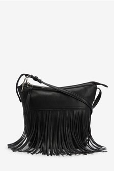 FRINGED BODY BAG – NEXT