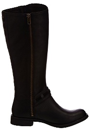LEATHER ZIP BOOTS (TIMBERLAND)
