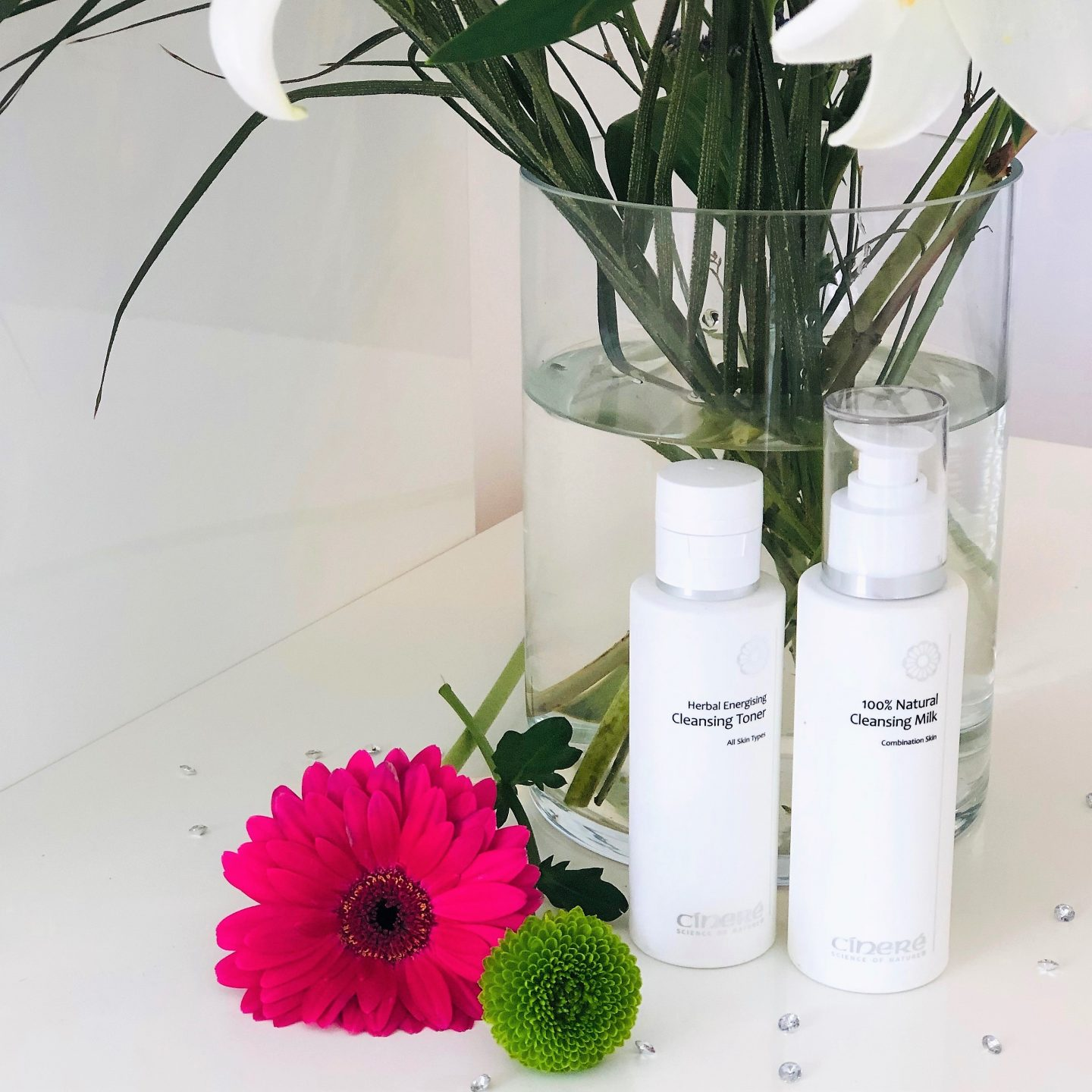 CÍNERÉ SKINCARE CLEANSING PRODUCTS:REVIEW