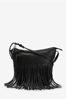 FRINGED BODY BAG – NEXT